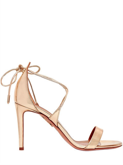 aquazzura-linda-mirror-leather-sandals