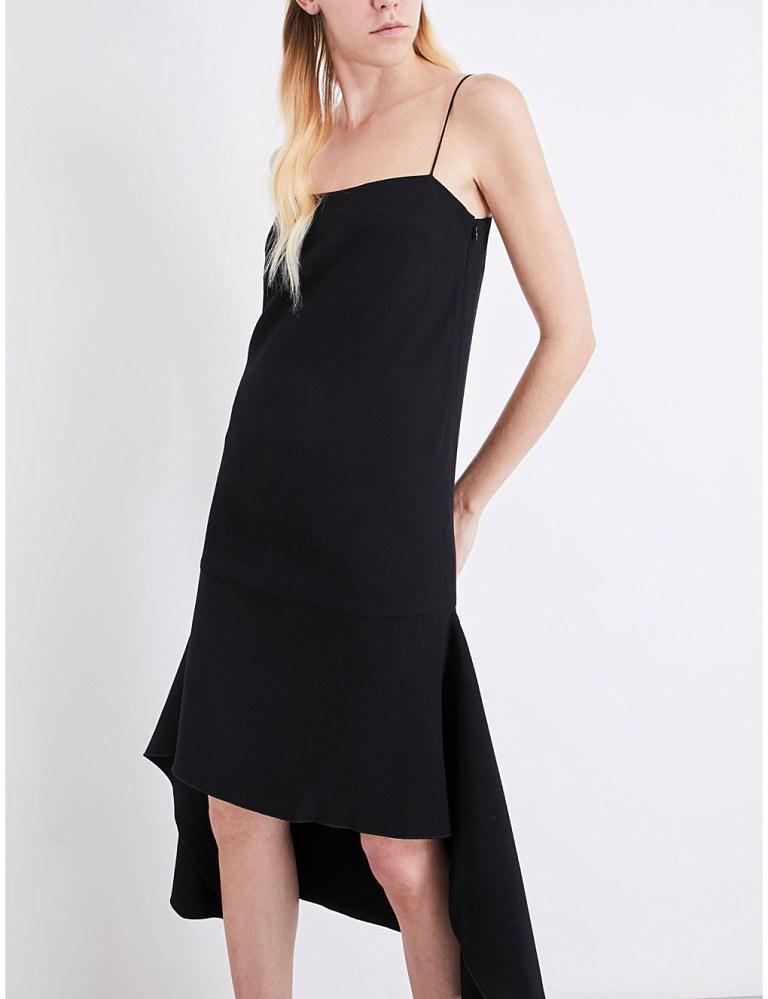Dion LeeSpaghetti-strap crepe dress