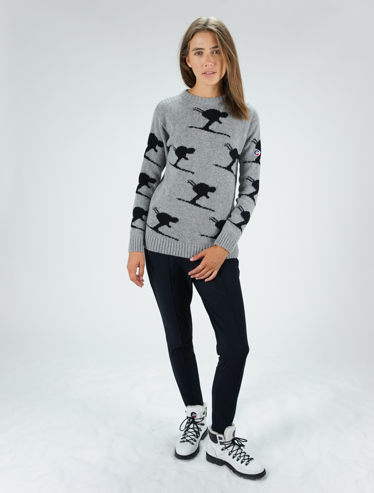Fusalp Women Knitted Sweat Carving