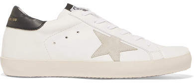 Golden Goose Deluxe Brand - Super Star Leather And Suede Sneakers