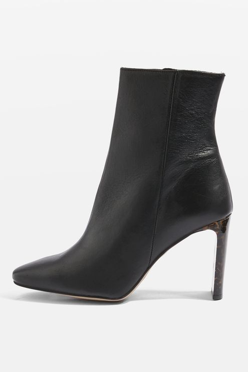 Topshop Hibiscus Ankle Boots