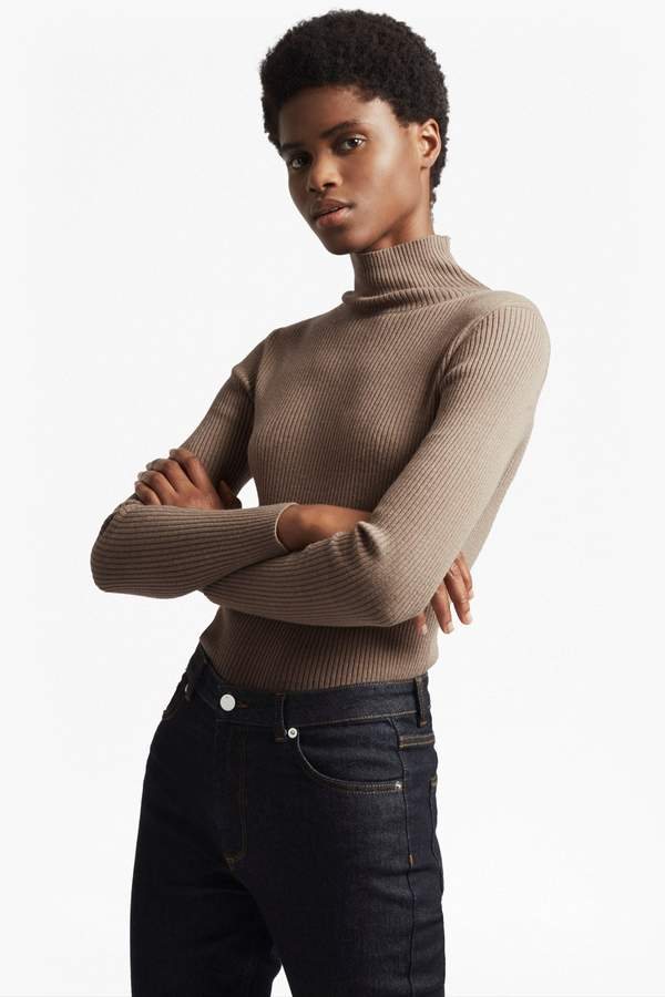 French Connection Nicola Knits High Neck Jumper