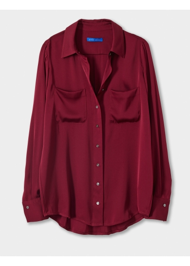 Winser London'The Tilda' - Silk Shirt