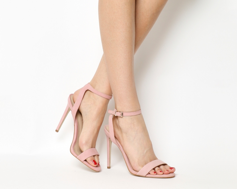Office Alana Single Sole Sandals in pink