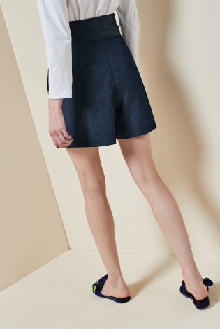 Mix Isa Arfen Tie Waist Short back view