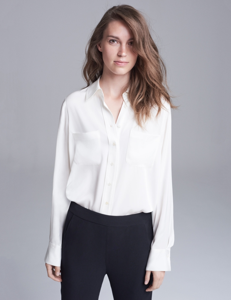 Winser London The Tilda Silk Shirt
