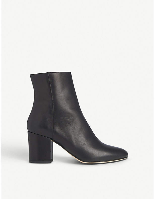 LK Bennett Jourdan leather ankle boots