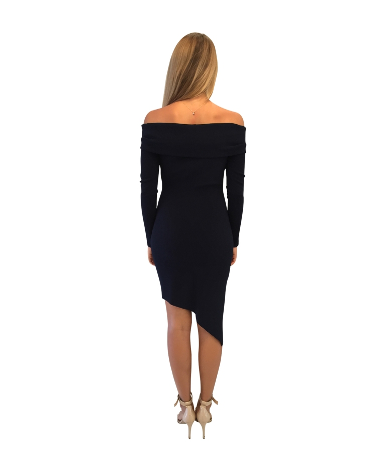 Bec and Bridge Montana Asymmetrical Dress back view