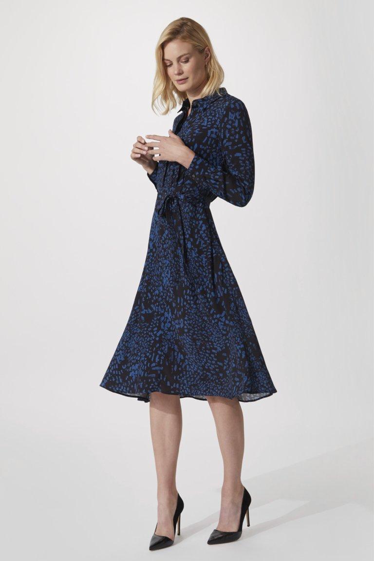Libby Exeter Ocean Print Dress
