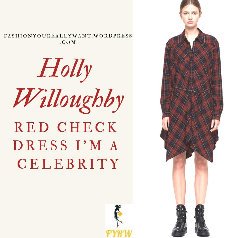 Celebrity Plaid Dresses