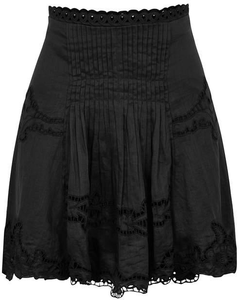 Isabel Marant Marion Broderie Anglaise Mini Skirt