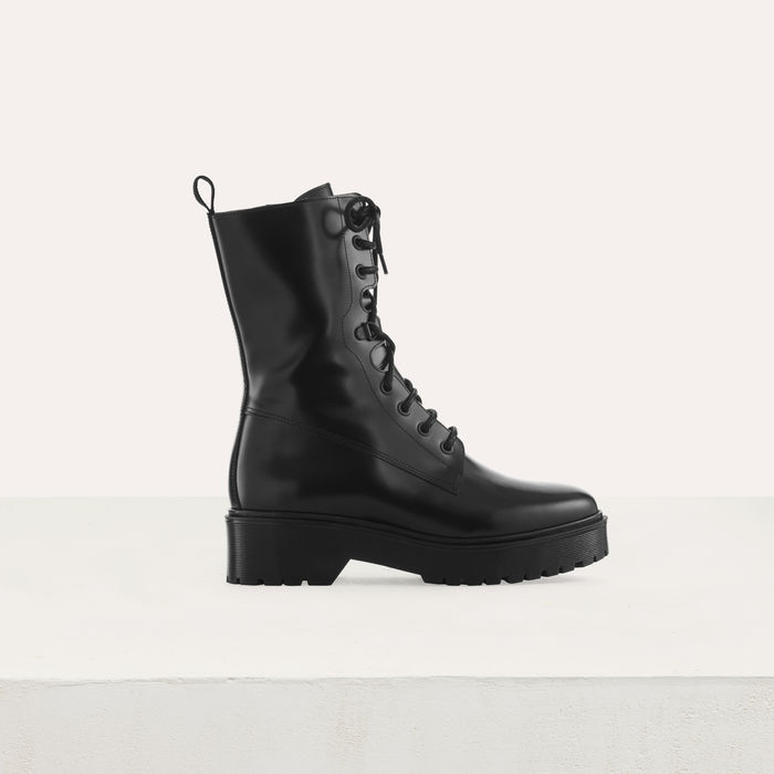 Maje FRANKTOP Ranger Style boots