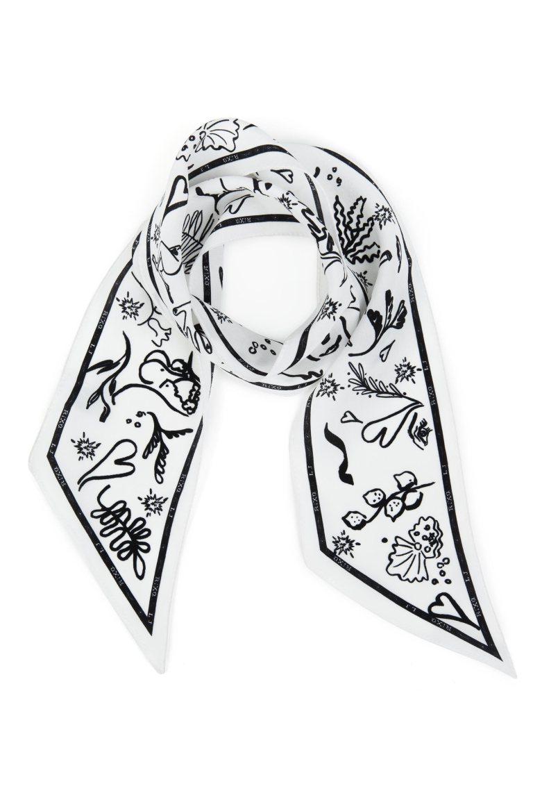 Rixo London Alexa Free as a Bird Neckscarf