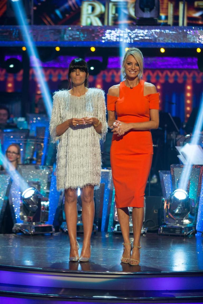 where to get Claudia winkleman pink fringe sequin dress Strictly november 201