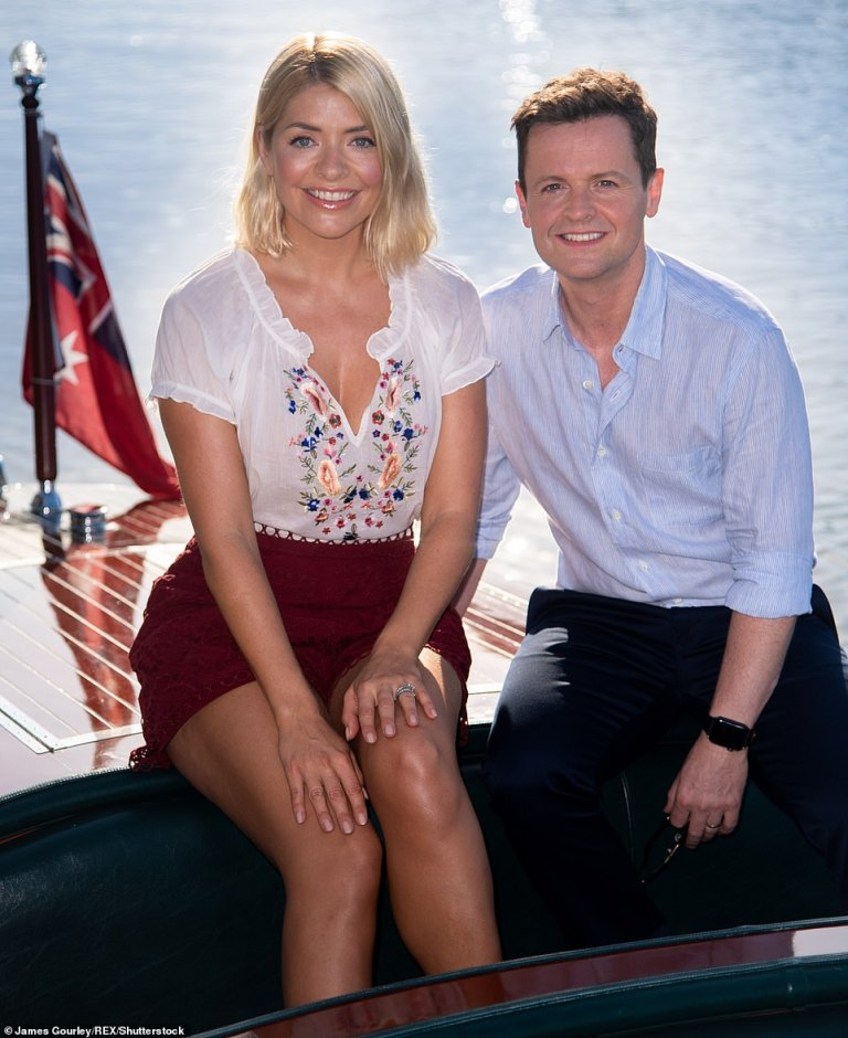 where to get holly Willoughby embroidered blouse red shorts I'm a Celebrity November 2018
