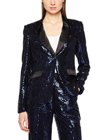 Millie Mackintosh Women's Sequin Sparkle Jacket