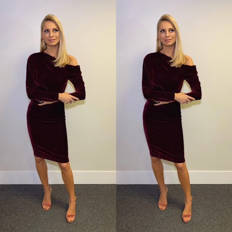 where to get Tess Daly berry velvet dress Strictly December 2018