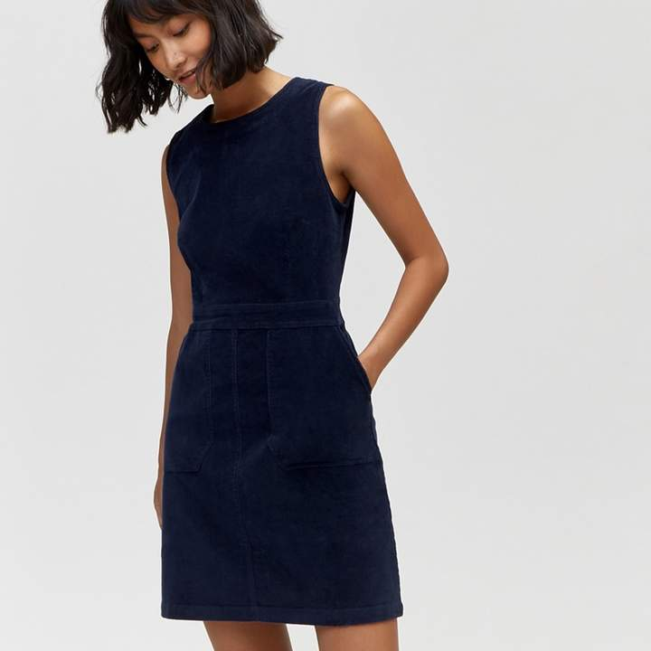 warehouse - cord shift dress