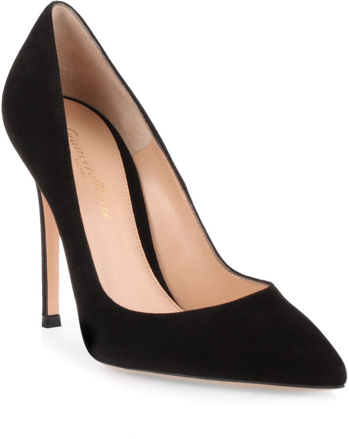 Gianvito Rossi Gianvito 105 black suede pumps