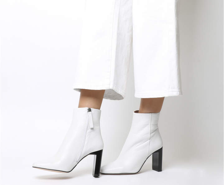 Office All Night Block Heel Boots