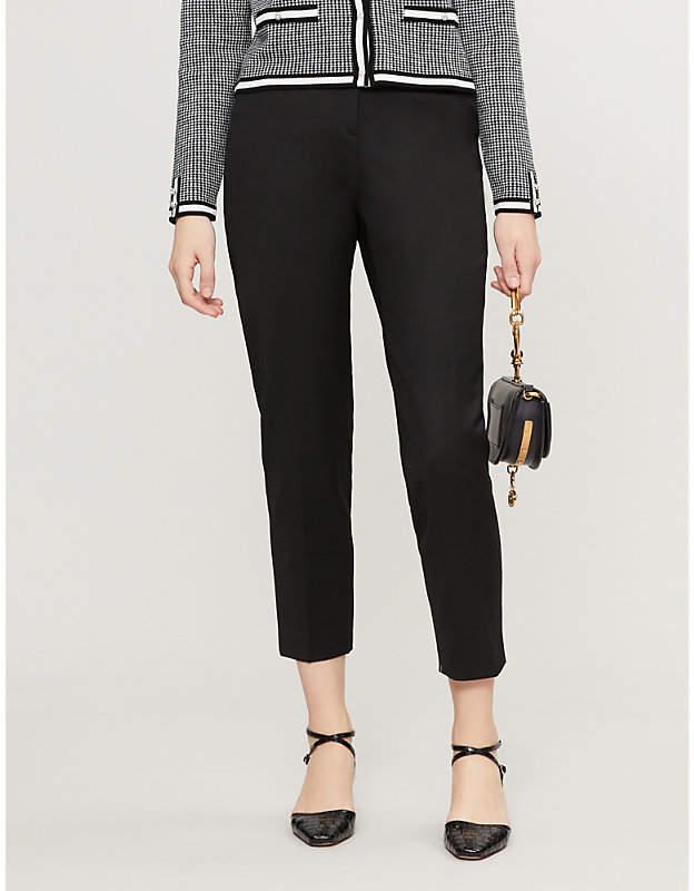 Claudie Pierlot Pascal Plain Cigarette Trousers