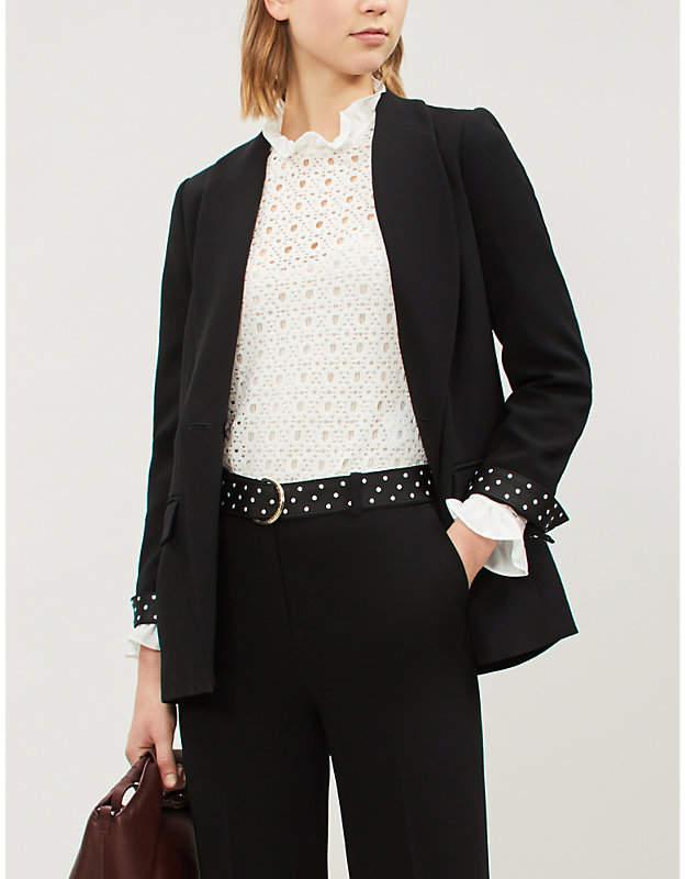 Claudie Pierlot Voile crepe jacket