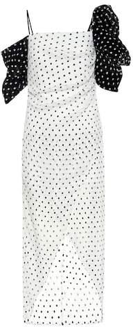 Rejina Pyo Layla polka-dot seersucker dress