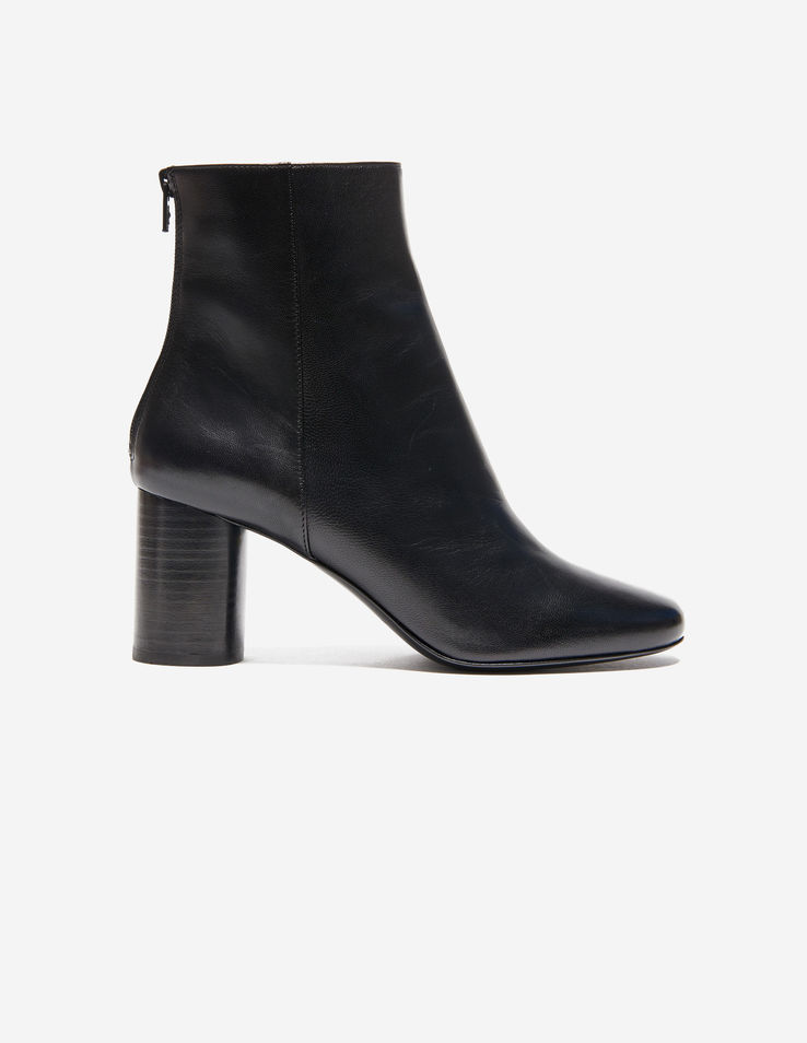 Sandro Leather Ankle Boots