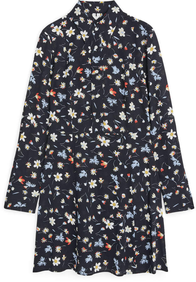 Arket Short Floral Dress