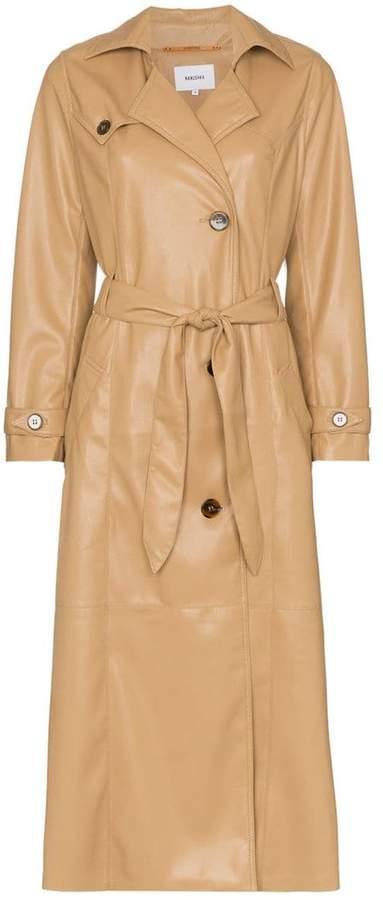Nanushka Chiara trench coat