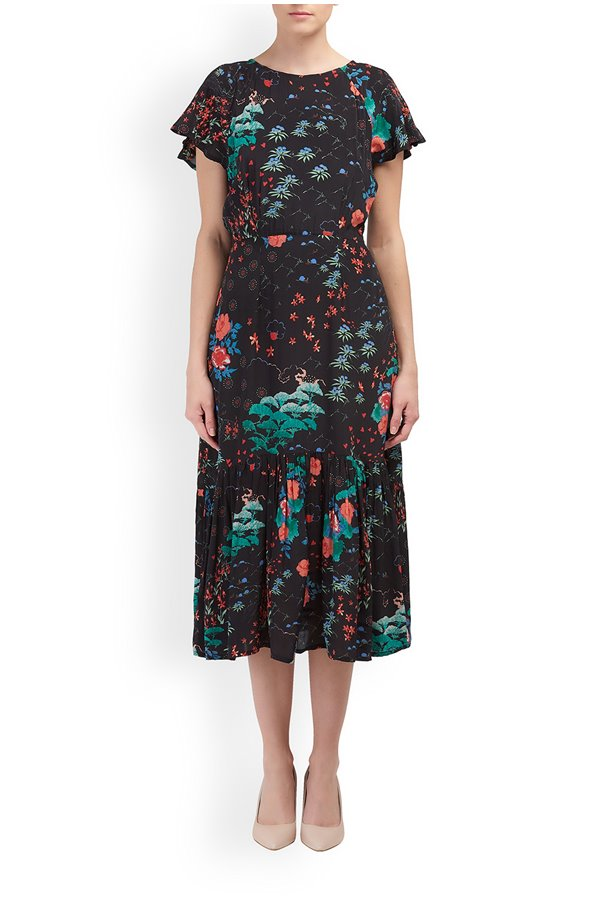 Lily and Lionel Rae Wonderland Print Dress v4