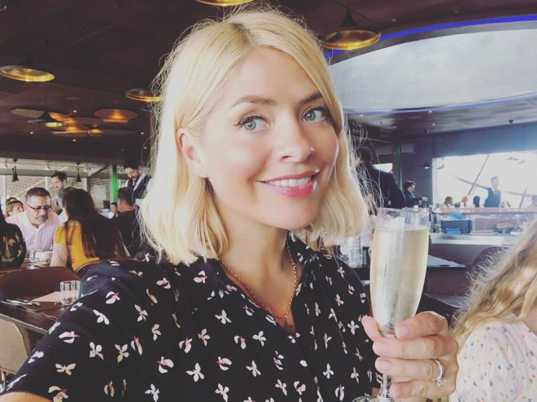 How to find holly willoughby black floral dress Eiffel Tower Paris June 2019 Photo Holly Willoughby