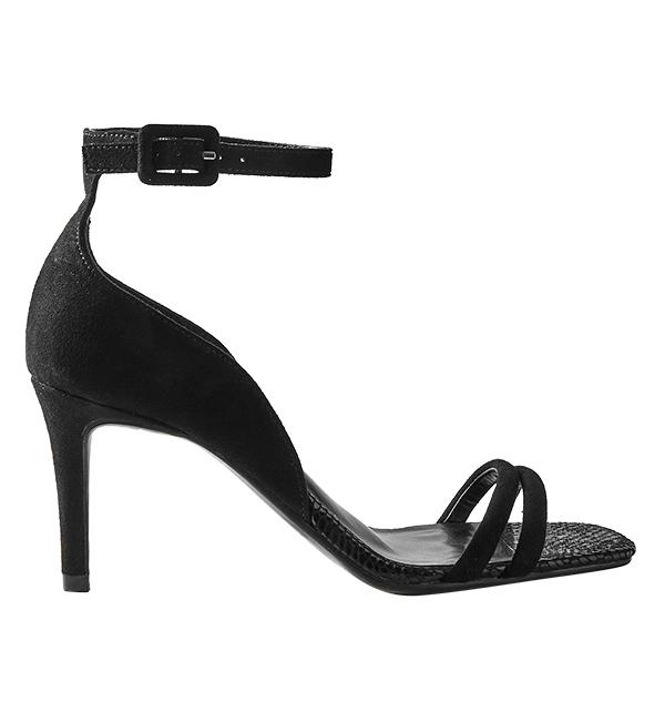 M&S black-strappy-sandals-