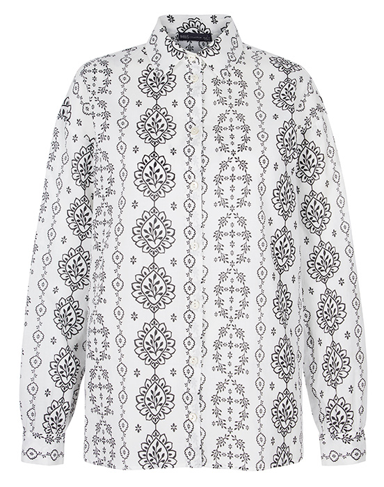 M&S patterned-shirt
