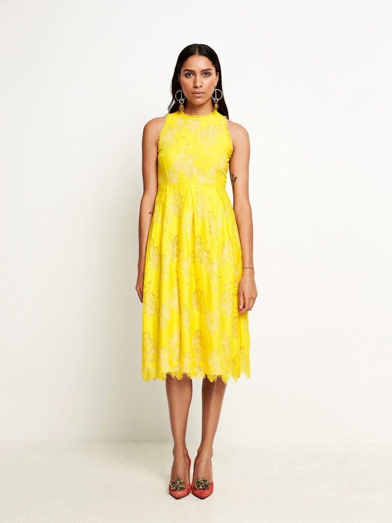 SAND Copenhagen Yellow Noam Dress