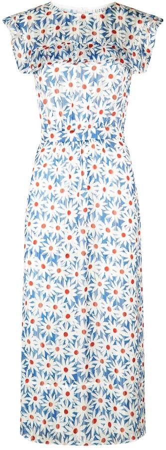 Claudie Pierlot Daisy Print Dress