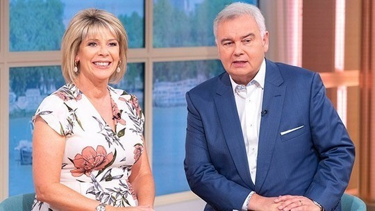 how to find Ruth Langsford This Morning outfit today cream floral maxi wrap dress July 2019 photo ITV com