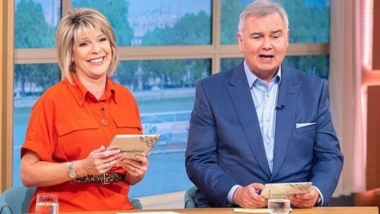 How to find Ruth Langsford This Morning outfit today red shirt dress July 2019