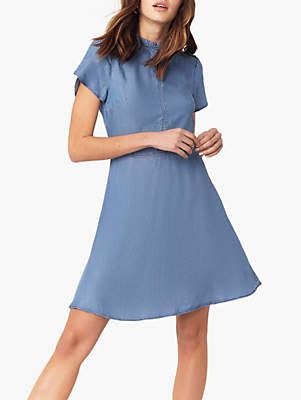 Oasis Denim Skater Dress