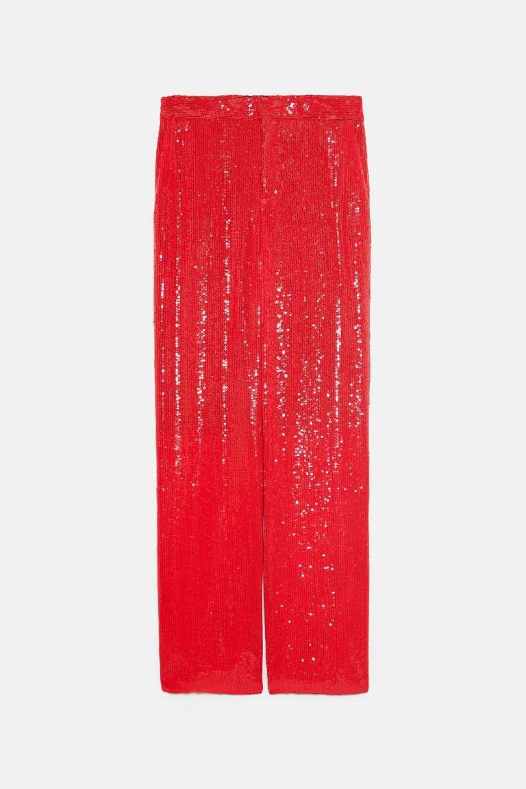 Zara Sequinned Trousers