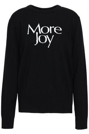 Christopher Kane Intarsia wool sweater More Joy