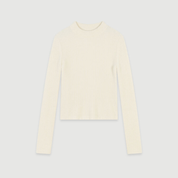 Maje Ribbed Turtleneck Sweater v2