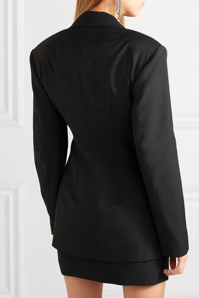 Rotate Birger Christensen Wool-blend Blazer Dress back view v2