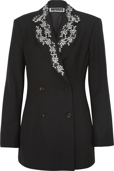 Rotate Birger Christensen Wool-blend Blazer Dress v2