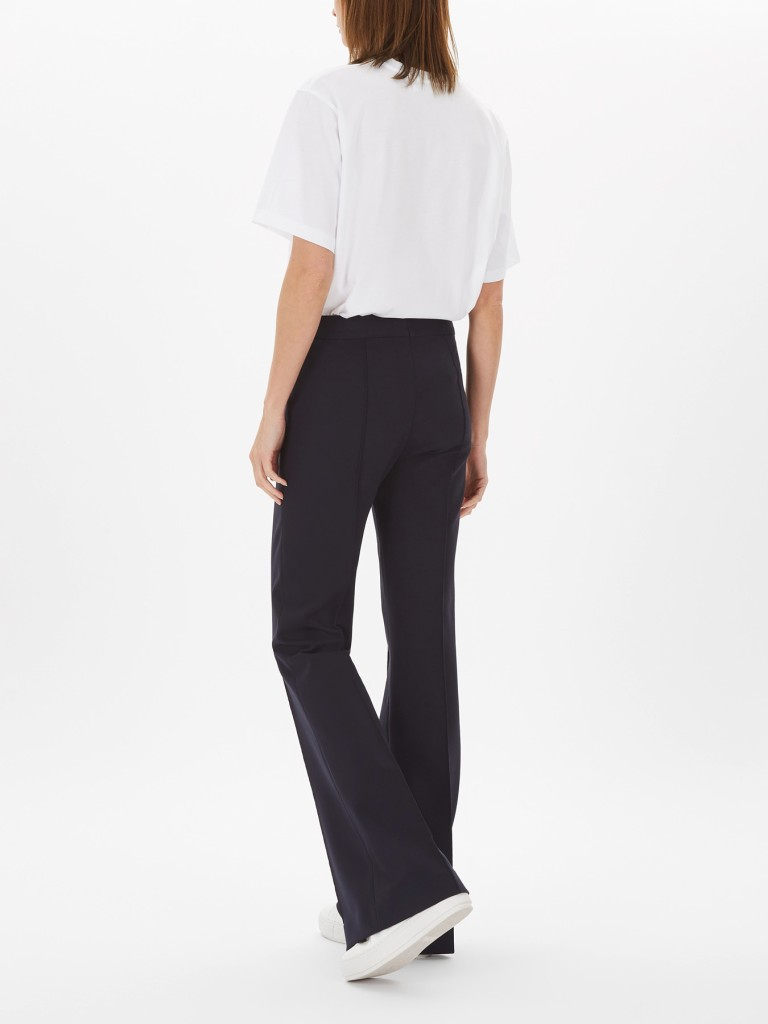 Victoria Beckham Pin Tuck Detail Trouser back view