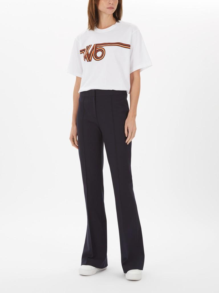 Victoria Beckham Pin Tuck Detail Trouser