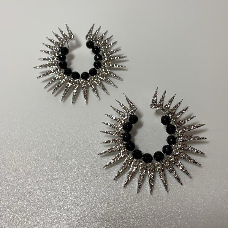 Victoria Percival Catherine wheel Earrings