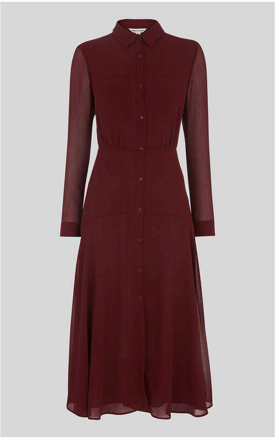 Whistles Carys Midi Shirt Dress