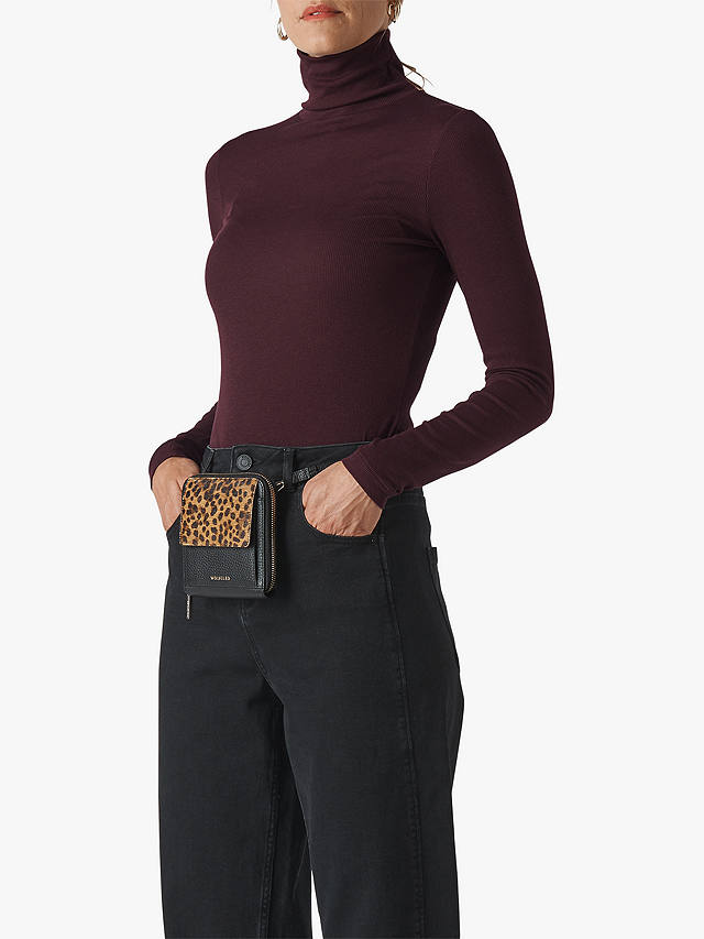 Whistles Essential Polo Neck Jumpe