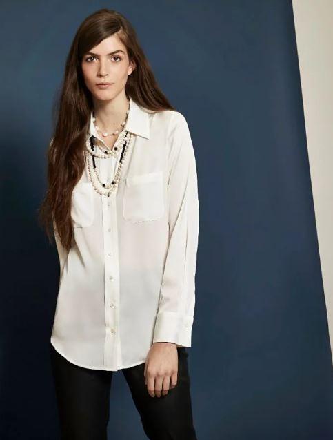 Winser London Tilda Silk shirt